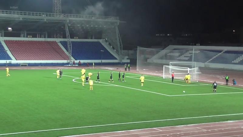 Голы матча Алтай Экибастуз 0 2 28 10 2020