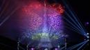 La Fête nationale française Paris Tour Eiffel 14 juillet 2016 Feu d'artifice