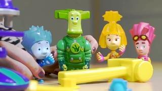 Фиксики - 🔧 «Почини меня, Нолик!» 🔩   Мультик из игрушек