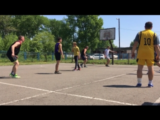 Соревы по баскету в тымовске