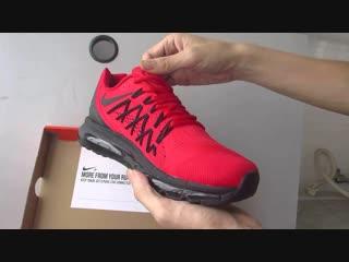 Мужские беговые кроссовки Nike Air Max 2017 Красные командные