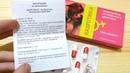 Отзыв на женский возбудитель Распутница Показываю упаковку инструкцию и капсулы
