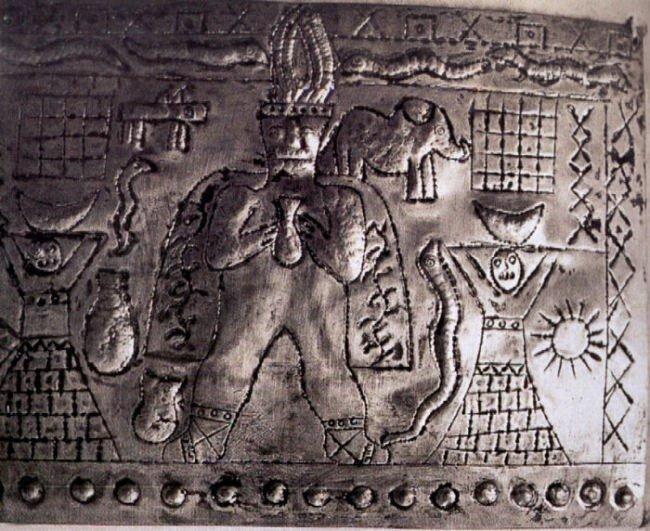 Металлическая библиотека атлантов || Коллекция Padre Crespi  Ragae34HEIo