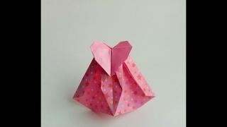 Упаковка с сердечками   Рackaging with hearts  Svetlana Sokolova  Оригами, весь мир в твоих руках