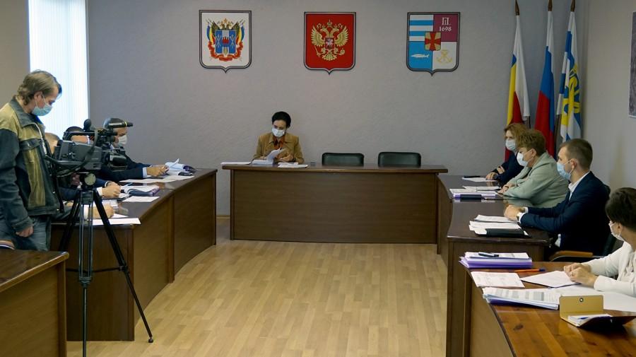 Проект бюджета Таганрога на 2021-2023 годы рассматривается в Гордуме