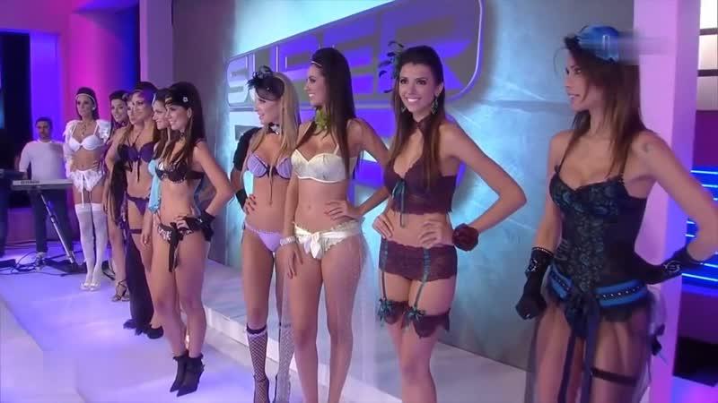 1 FASHION SHOW SUPER POP LINGERIE COLLECTION Sexy Models BIKINI SHOW ПОКАЗ НИЖНЕГО БЕЛЬЯ hot girl