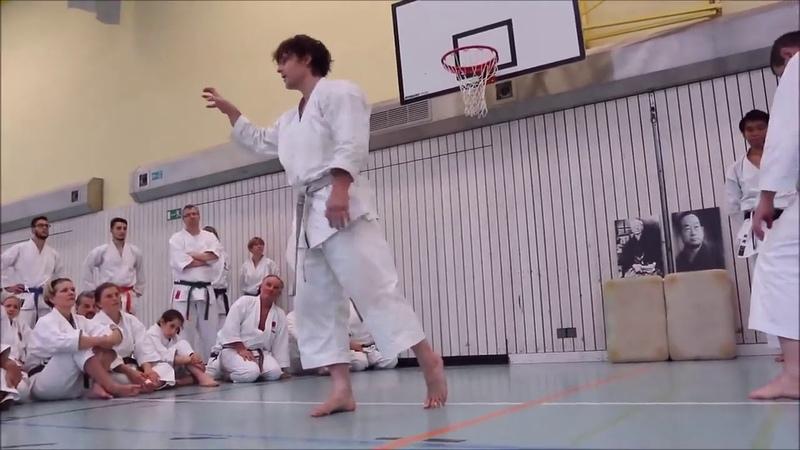 Advance Karate techniques by Andre Bertel Krefeld