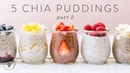 5 (NEW) CHIA PUDDINGS for BuzyBeez | HONEYSUCKLE