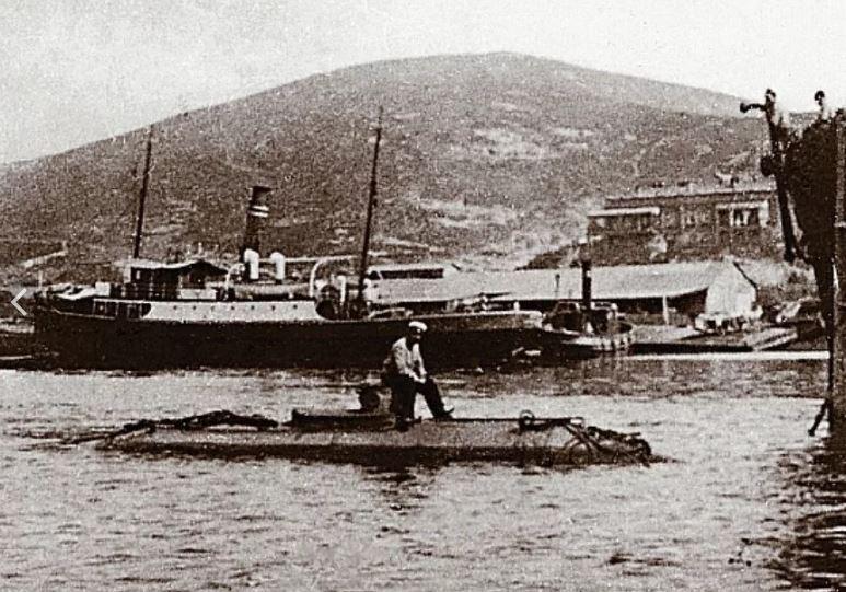 Подводная лодка «Порт-Артурец» конструкции М.П. Налетова.