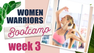 Arms, Shoulders and Chest | UPPER BODY Workout | Woman Warriors Bootcamp