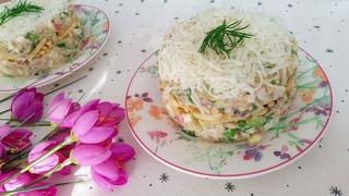 ВЫ ОБАЛДЕЕТЕ, когда попробуйте этот салат. Рецепт салата с сельдью