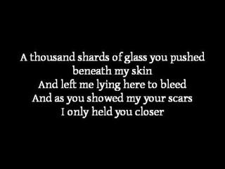 Apocalyptica ~ Broken Pieces (lyrics) ft. Lacey Sturm from Flyleaf