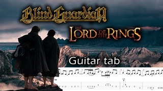 Blind Guardian - Lord of the Rings (Guitar tab)