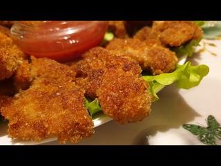 Наггетсы.Как приготовить куриные наггетсы как в KFC в домашних условиях Chicken nuggets.