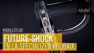 Así funciona el Future Shock 2.0 de la Specialized Roubaix 2020