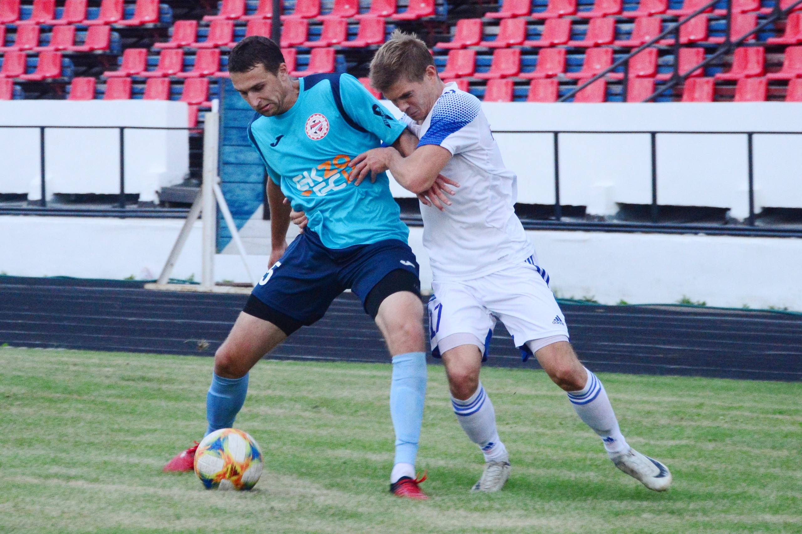 Николай Вовк и Максим Гайдуков. Фото: Зенит Иркутск