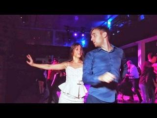 Brazuka 2018. Anton Kolomin and Maria de Oliveira. Zouk improvisation.